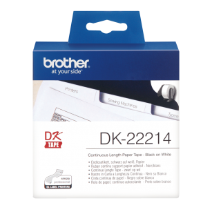 Brother DK-22214 do QL etyk pap 12mm*30.48m
